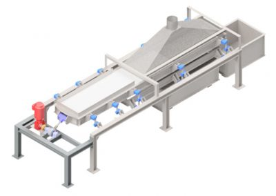 DOUBLE SIEVING SYSTEM